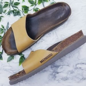 Mephisto Slide On Sandals GUC